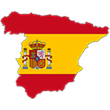 Spain Country Flag And Shape