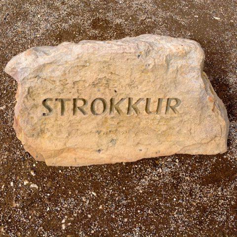Strokkur Geysir Stone