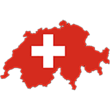 Switzerland Country Flag And Shape
