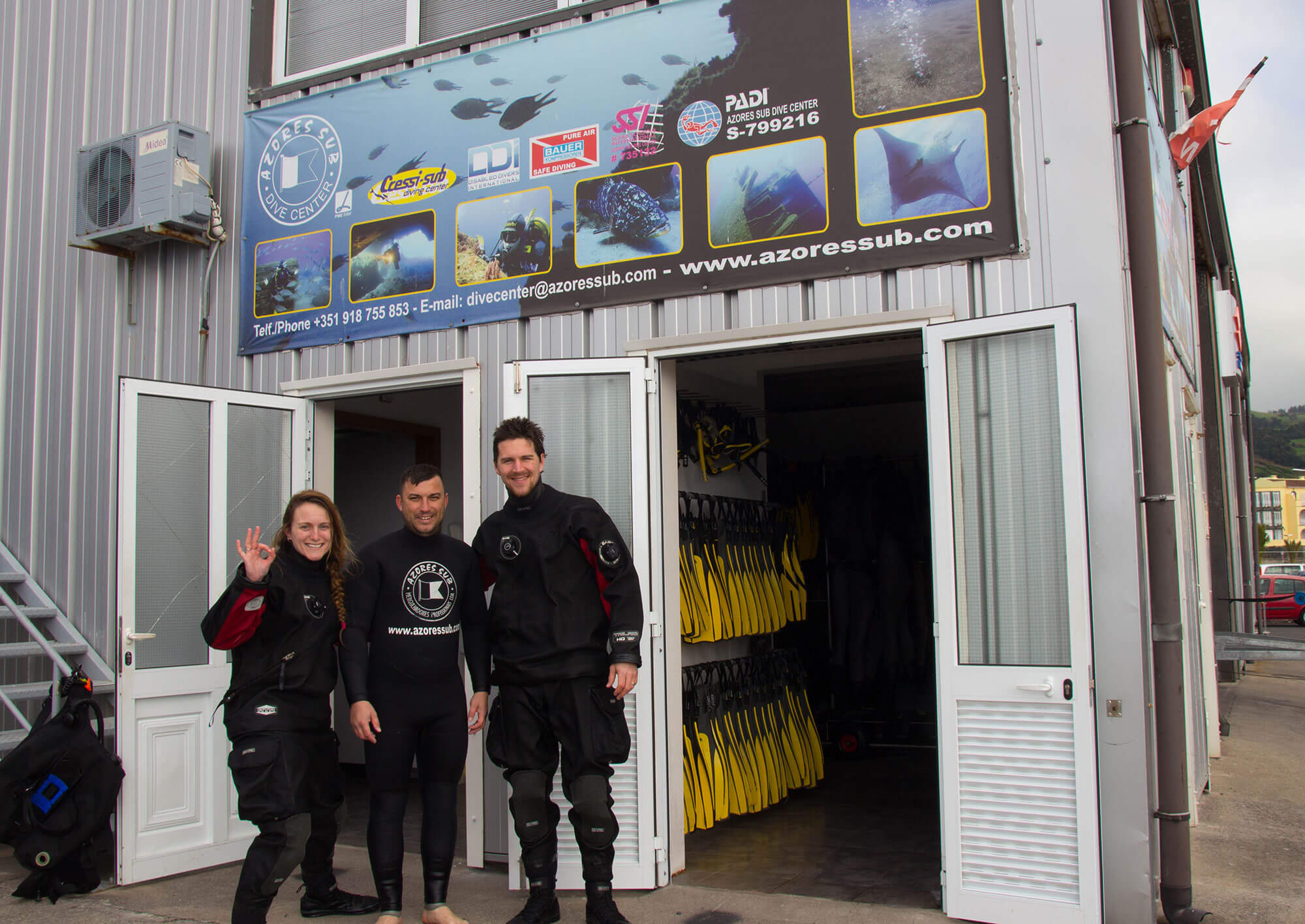 The Sao Miguel Island Azores Dive Shop