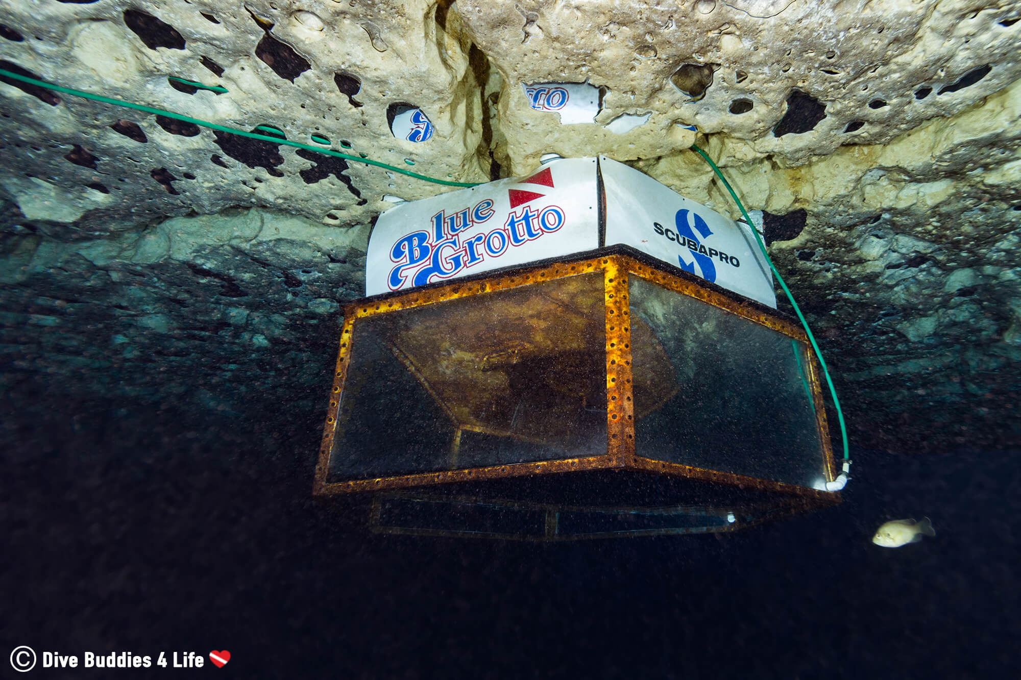 The Blue Grotto Compressed Air Diving Bell, Florida, USA
