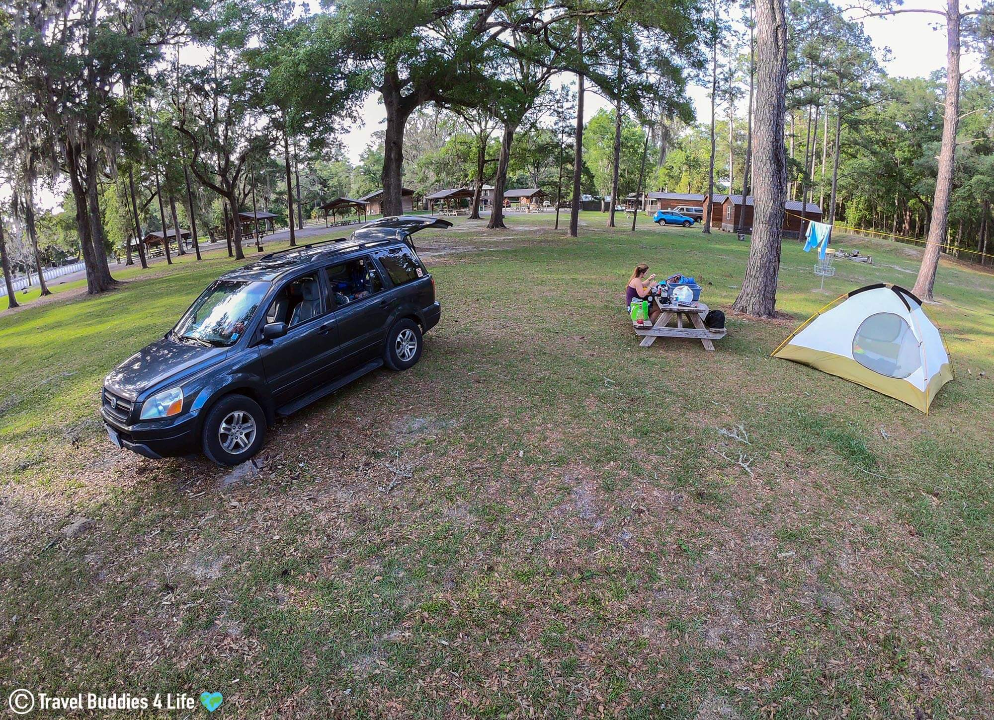 The Blue Grotto Resort Camp Site In Williston, Florida, USA