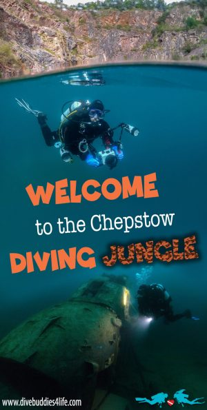 Scuba Diving The Chepstow Diving Jungle In Wales, UK
