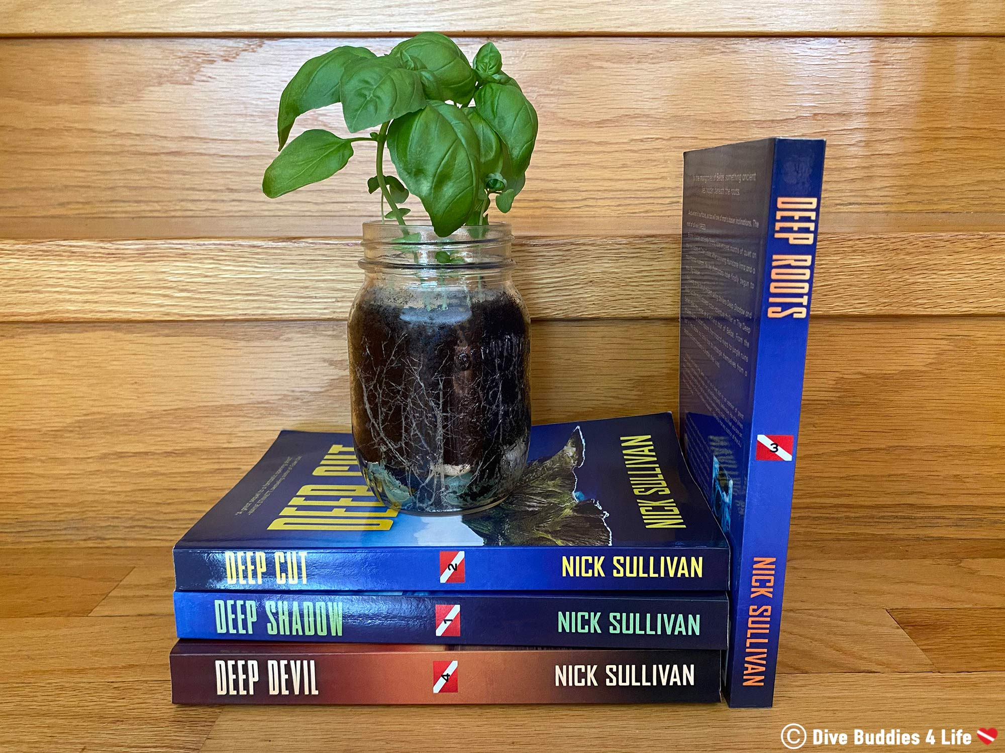 The Deep Scuba Diving Series Showcasing A Plant And Deep Roots The Third Novel