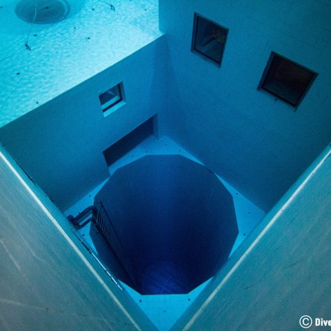 The Deepest Pit In The Nemo 33 Indoor Pool In Belgium, Europe