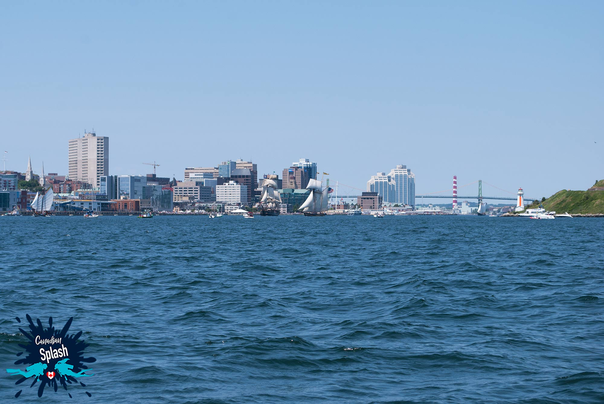 The Halifax Harbour And Cityscape, Nova Scotia, Canada