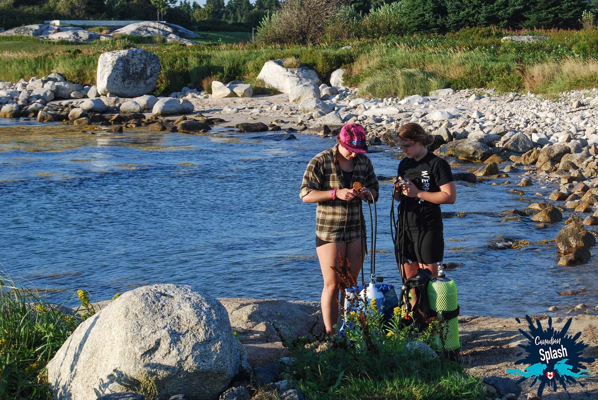 The Rocky Intertidal Shores Of Halifax, Nova Scotia, Scuba Diving Canada