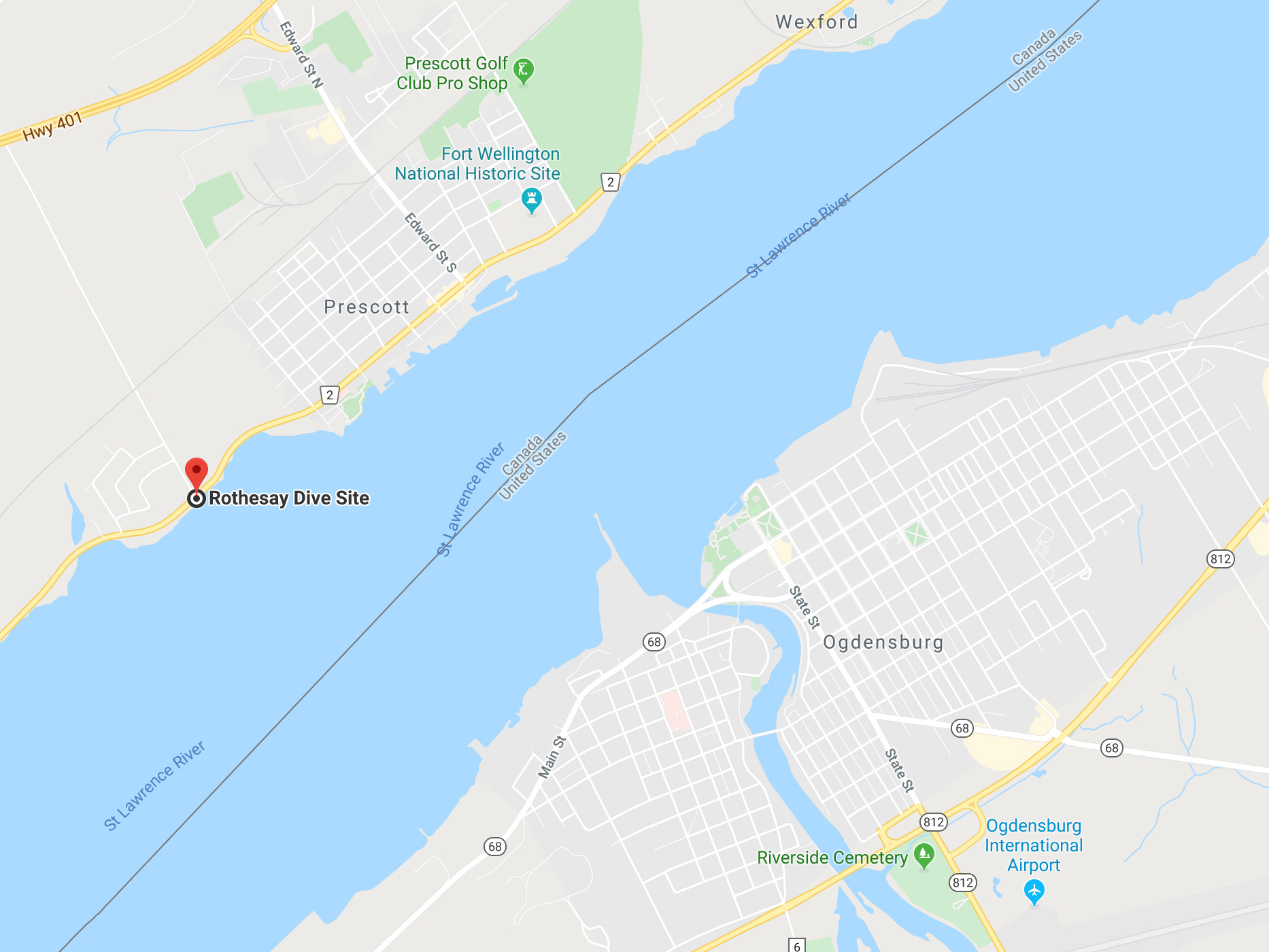 The Rothesay Dive Site In Brockville And Area, Ontario, Scuba Diving Canada
