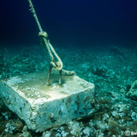 The Scuba Diving Boat Anchor In Dubrovnik, Croatia, Europe