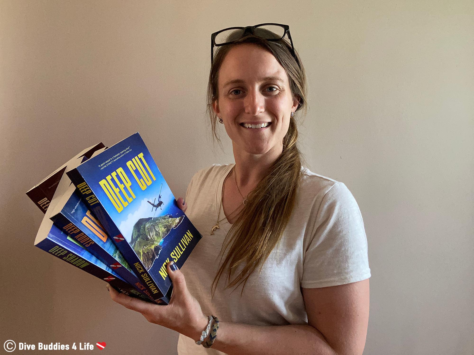 The Scuba Diving Book Deep Series By Nick Sullivan