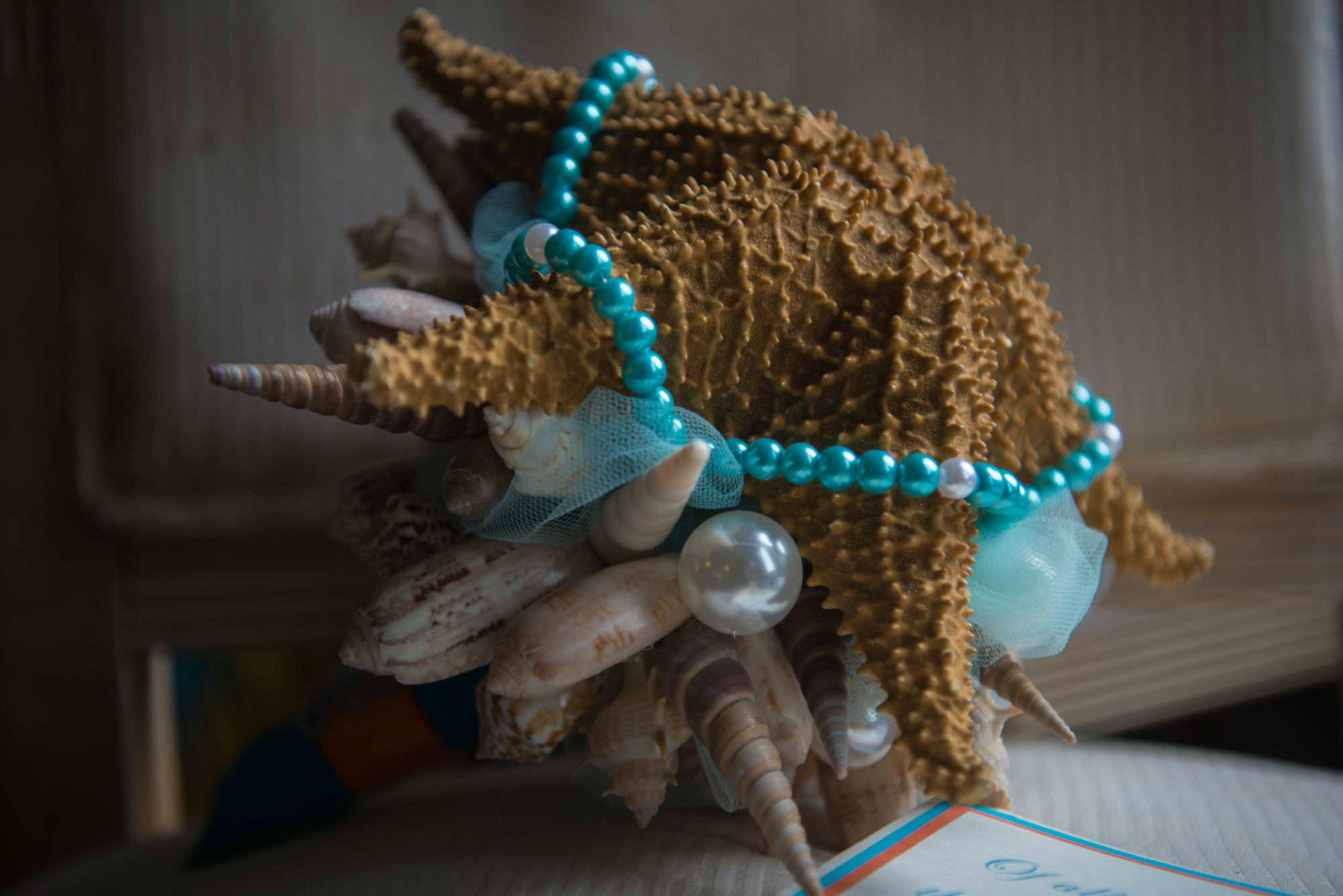 The Starfish Bridal Bouquet