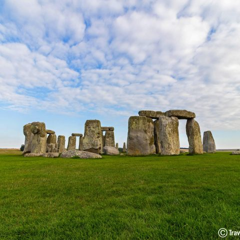 The Stonehenge With Watermark In England, UK