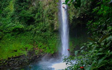The La Fortuna Waterfall Pool in Costa Rica