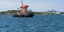 Theodore The Tug Boat In The Halifax Harbour, Nova Scotia, Canadian Splash Scuba Diving