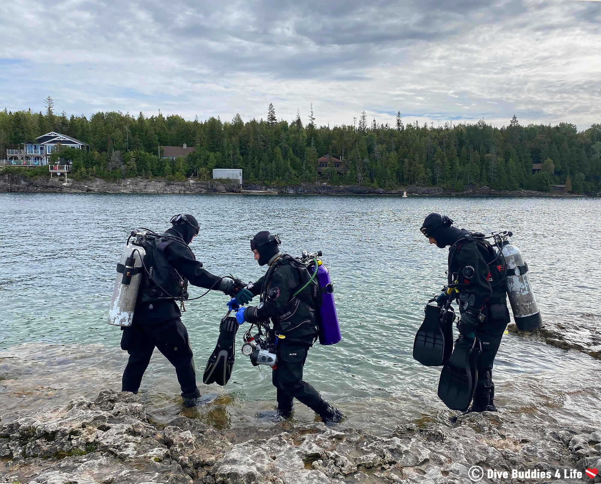 Tobermory Trio Extending the Summer Dive Season into September