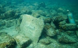 Tombstone On The Reef In Slovenia