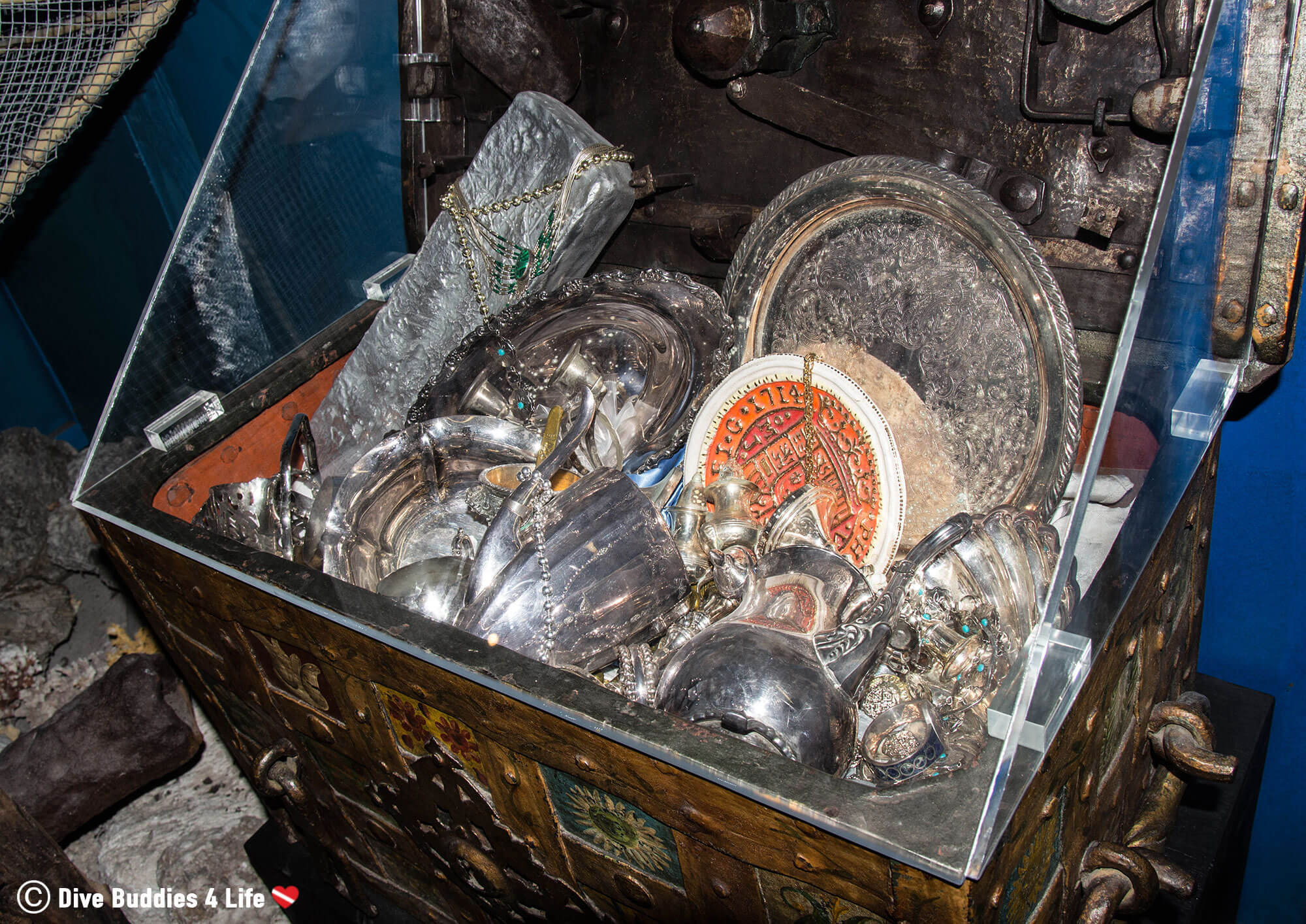 Treasure Chest In The History Of Diving Museum, Florida Keys