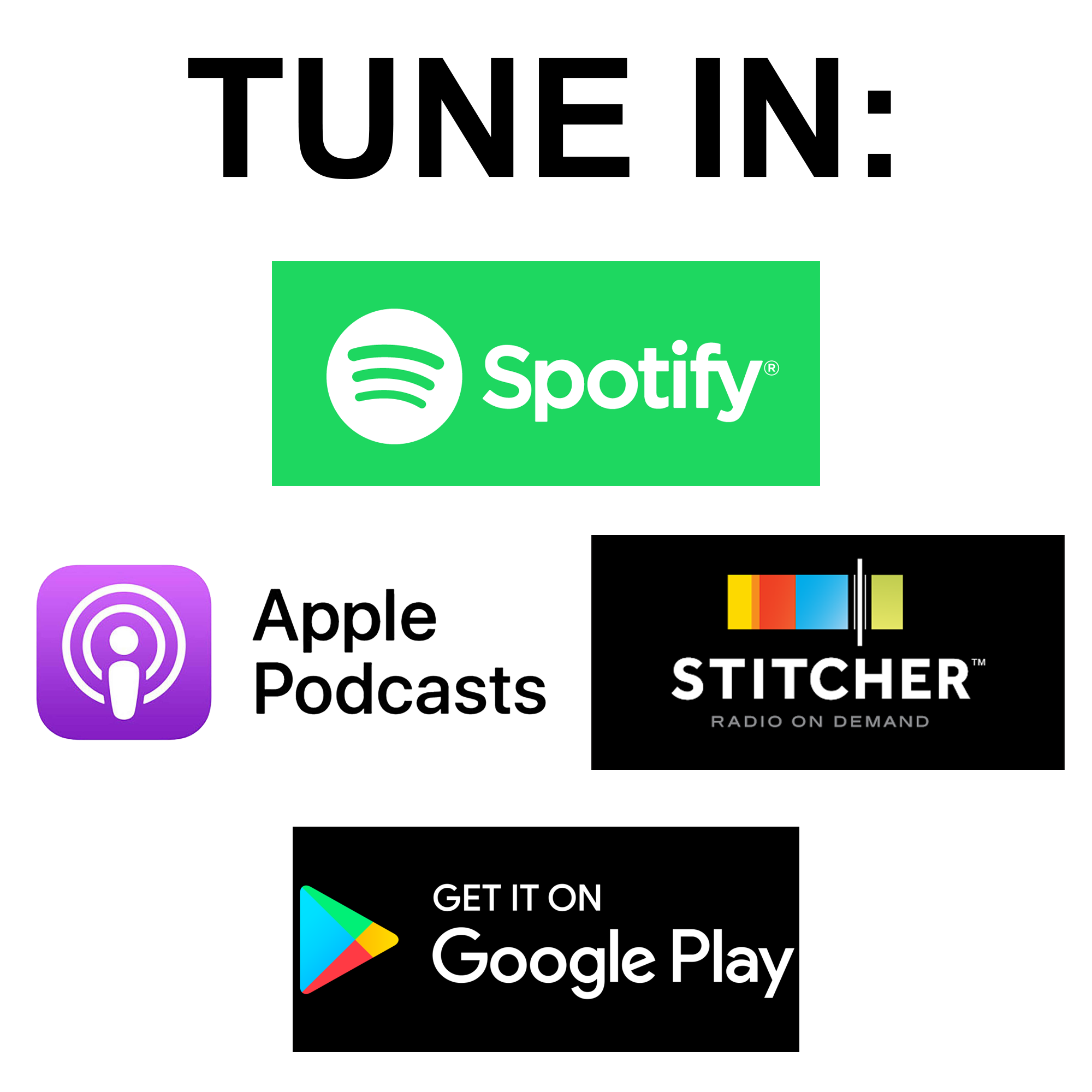 Tune In Podcast Section