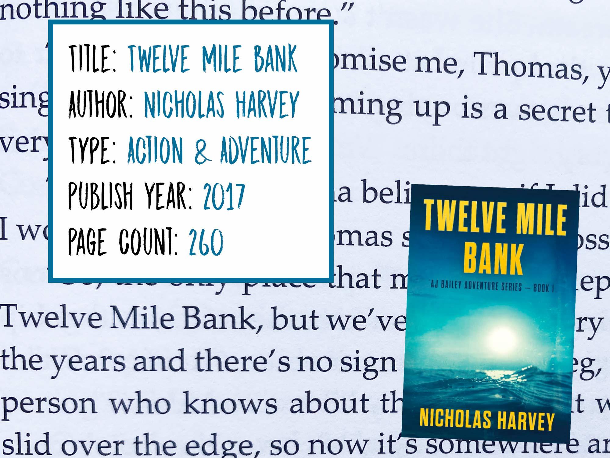 Twelve Mile Bank Scuba Diving Novel Series Information
