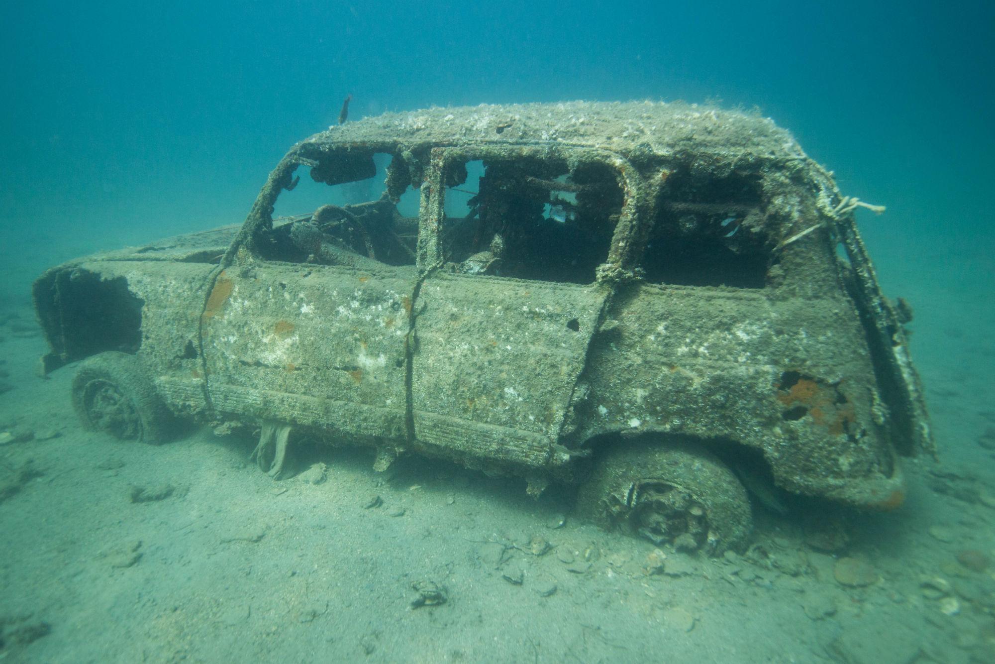 Underwater Car In Slovenia