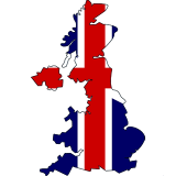 United Kingdom Country Flag And Shape 1United Kingdom Country Flag And Shape 1