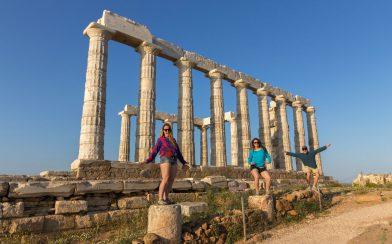 Us 3 Standing on the Pillars