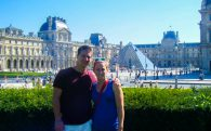 Us at the Louvre During the Day