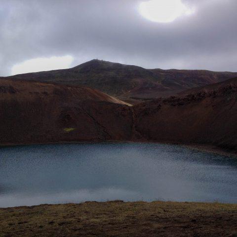 Viti Lake with Krafla