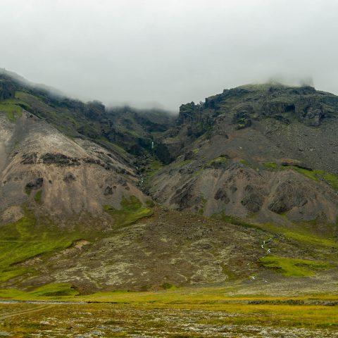 Iceland Volcano Range