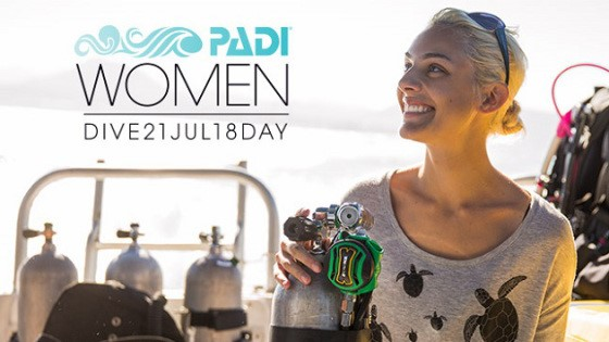 PADI Women's International Dive Day
