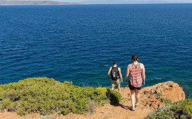 Walking Down to the Ocean