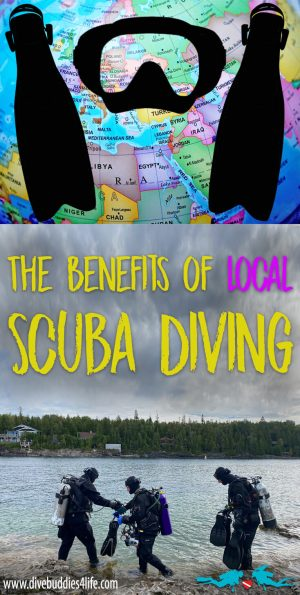 Why You Should Scuba Dive Locally