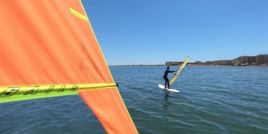 Windsurfing On Spain's Mar Menor