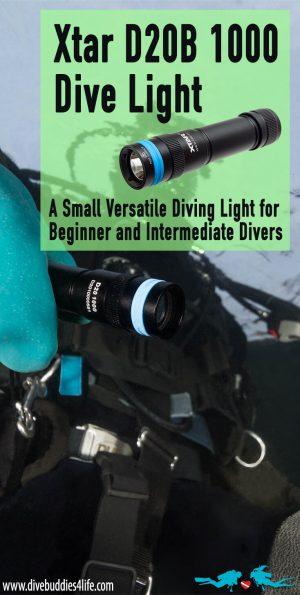 Xtar Dive Light For Beginner And Intermediate Scuba Divers