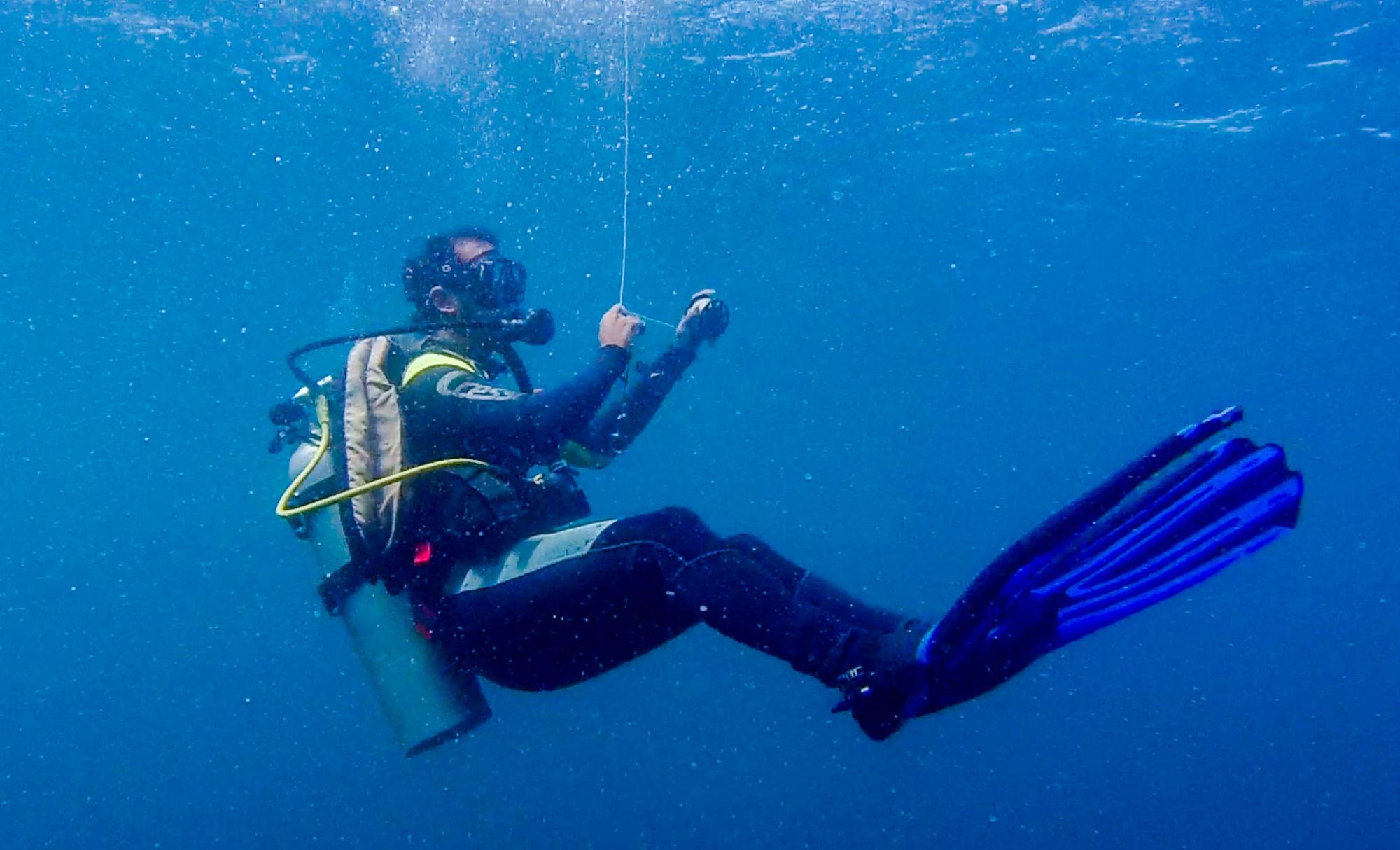 Carlos the Scuba Dive Master