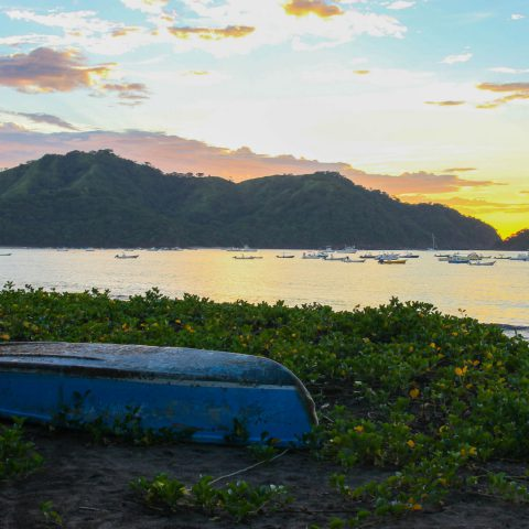 A Harbour and Ocean View Sunset from Costa Rica